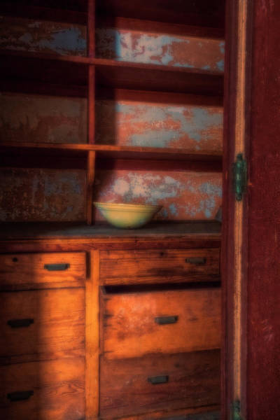Photograph - Ellis Island Cabinet by Tom Singleton