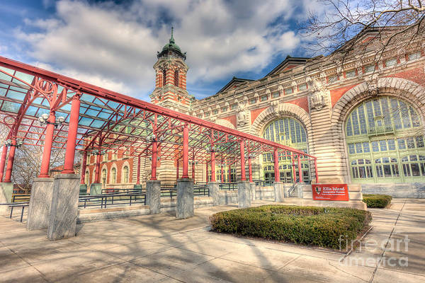 Photograph - Ellis Island Immigration Museum I by Clarence Holmes