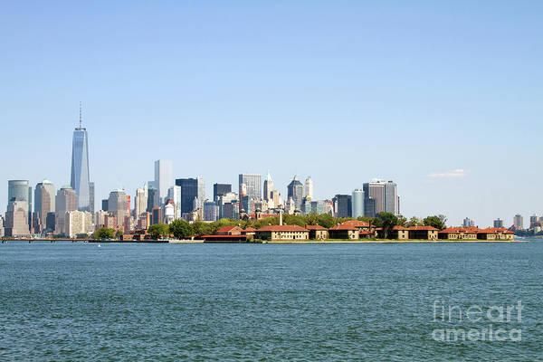 Photograph - Ellis Island New York City by Steven Frame
