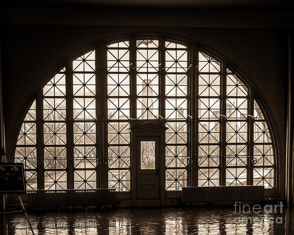 Wall Art - Photograph - Ellis Island Windows by Perry Webster