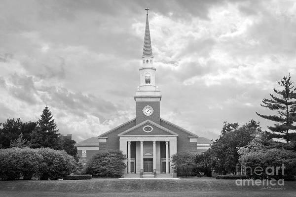 Photograph - Elmhurst College Hammerschmidt Chapel by University Icons