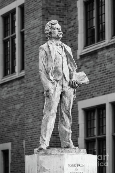 Wall Art - Photograph - Elmira College Mark Twain Statue by University Icons