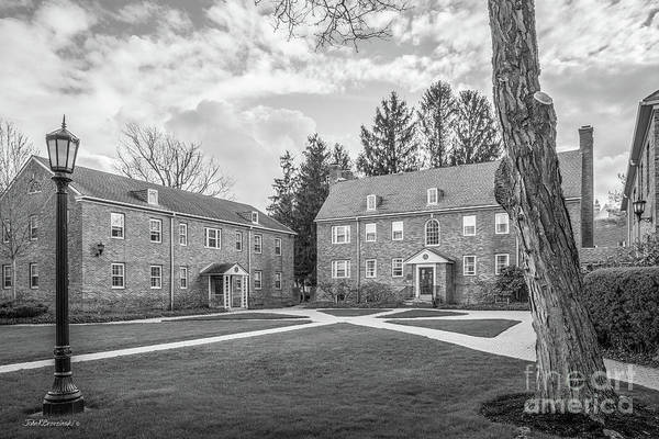 Wall Art - Photograph - Elmira College The College Cottages by University Icons