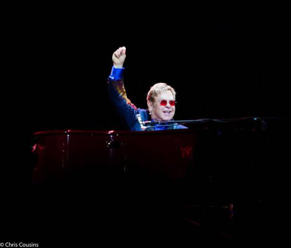 Photograph - Elton by Chris Cousins