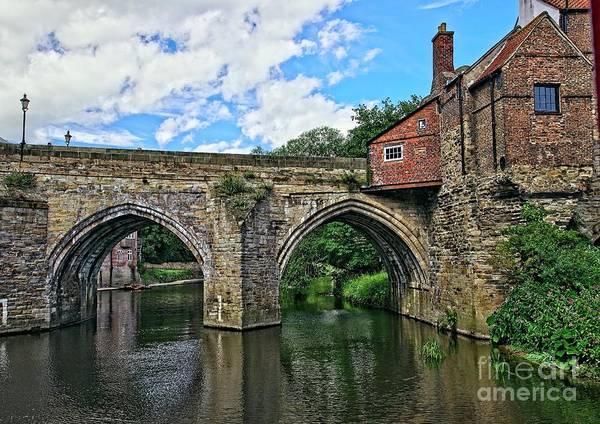 Photograph - Elvet Bridge, Durham City, England by Martyn Arnold