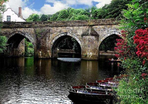 Photograph - Elvet Bridge Durham City Uk by Martyn Arnold