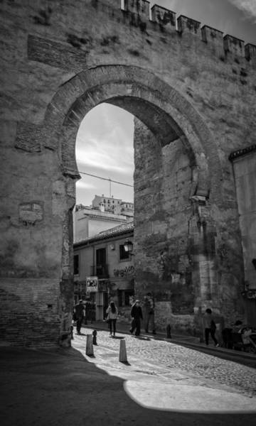 Photograph - Elvira Gate Bw by Joan Carroll