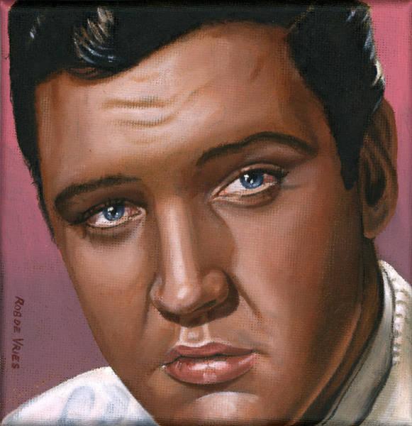 Elvis Wall Art - Painting - Elvis 24 1962 by Rob De Vries