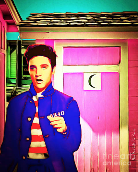 Photograph - Elvis Has Left The House 20151225 by Wingsdomain Art and Photography
