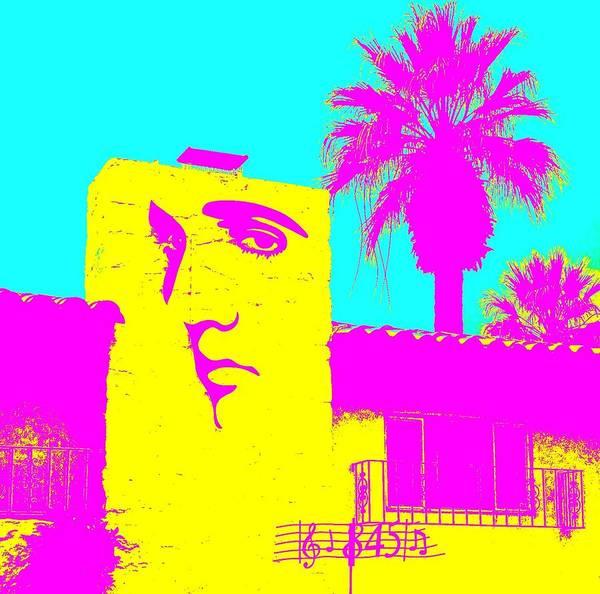 Elvis Photograph - Elvis Palm Springs 2 by Randall Weidner