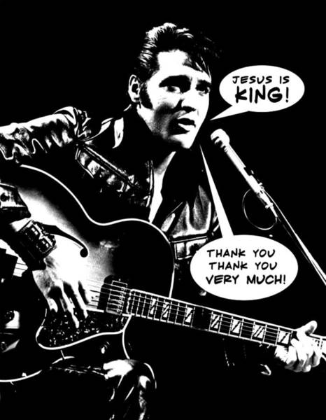 Rock And Roll Wall Art - Photograph - Elvis Presley Final Tribute by Lucky Chen
