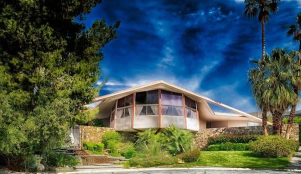 Elvis Photograph - Elvis Presley Honeymoon House In Palm Springs by Mountain Dreams