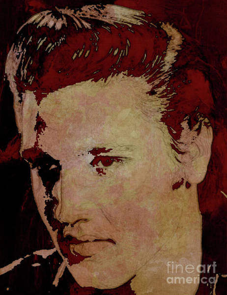 Wall Art - Painting - Elvis Presley Kji by Gull G