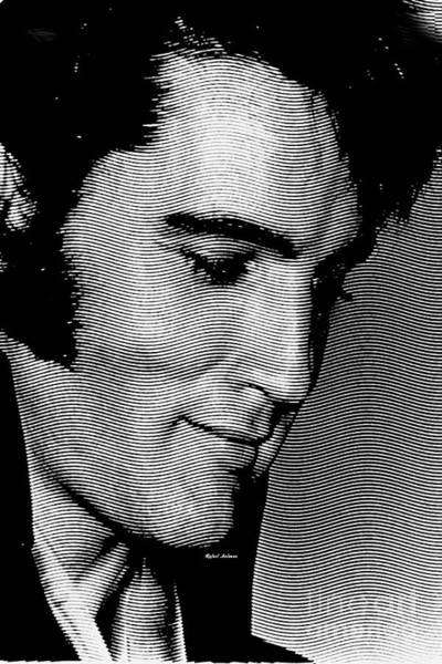 Digital Art - Elvis Presley by Rafael Salazar