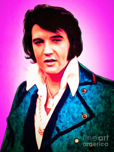Photograph - Elvis Presley The King 20160117 by Wingsdomain Art and Photography