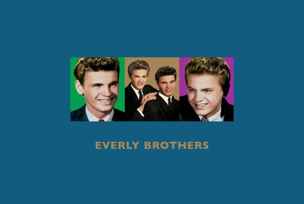 Wooden Shoe Digital Art - Everly Brothers - Triptych Designs by David Richardson