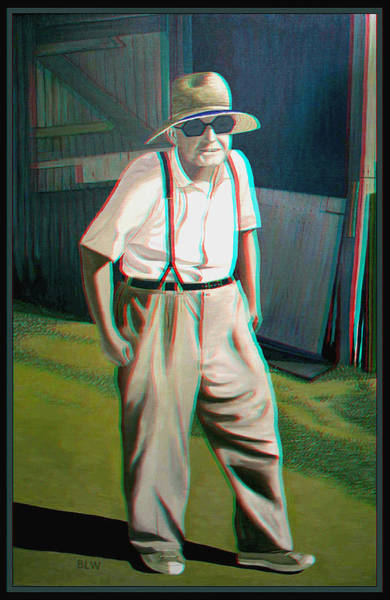 Anaglyph Photograph - Elwood - 2d-3d Anaglyph Conversion by Brian Wallace
