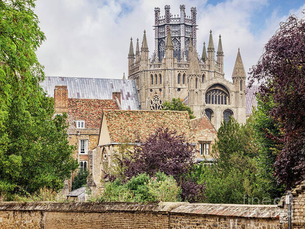 Ely Wall Art - Photograph - Ely Cathedral, England by Colin and Linda McKie