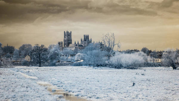 Photograph - Ely Cathedral Infrared by James Billings