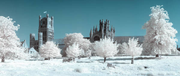 Photograph - Ely Cathedral Ir Pano by James Billings