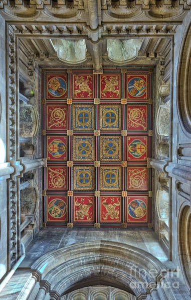 Photograph - Ely Catherdral South West Transept Ceiling by Tim Gainey