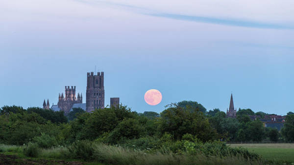 Photograph - Ely Moonrise by James Billings