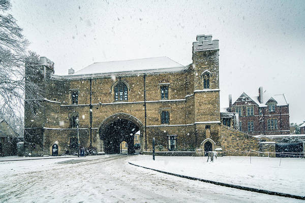 Photograph - Ely Porta - Snow by James Billings