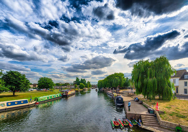Photograph - Ely Riverside by James Billings