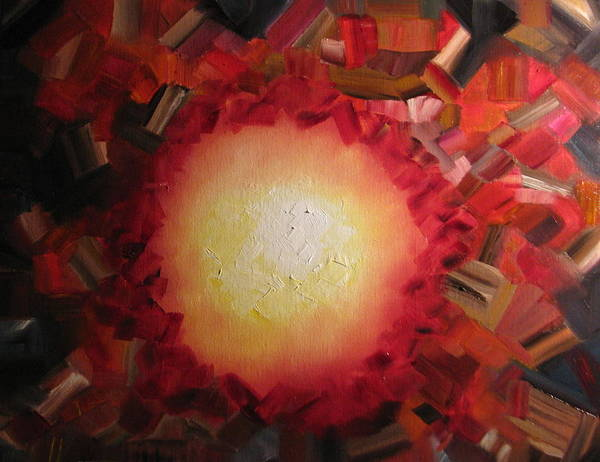 Emanate Painting - Emanation by Kimby Faires