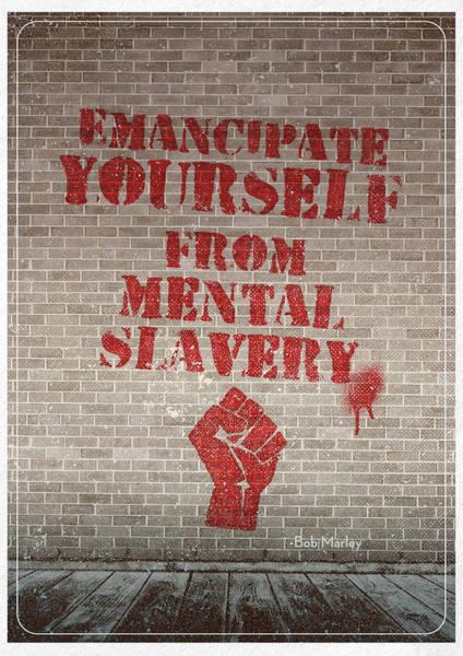 Revolting Digital Art - Emancipate Yourself by Jason Harter
