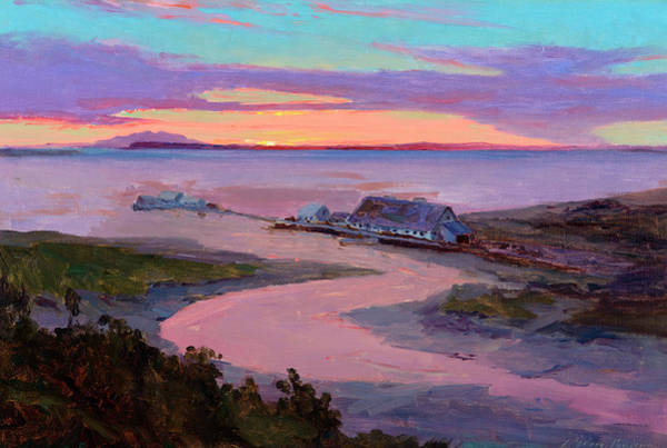 Wall Art - Painting - Emard Salmon Cannery by Sydney Mortimer Laurence