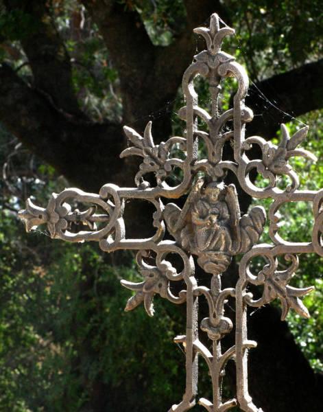 Wall Art - Photograph - Embellished Cross by Peter Piatt