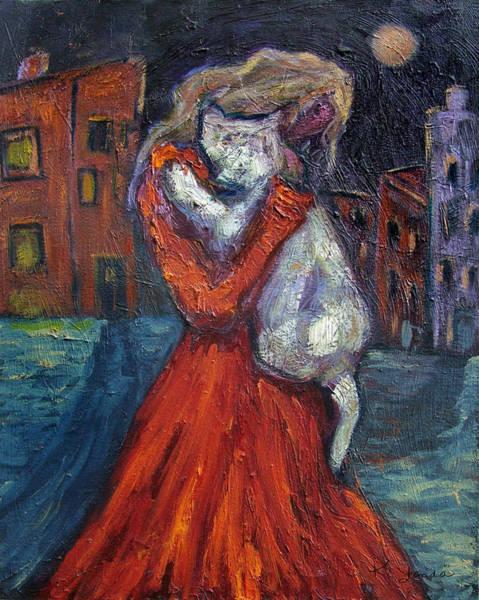 Painting - Embrace I by Katt Yanda