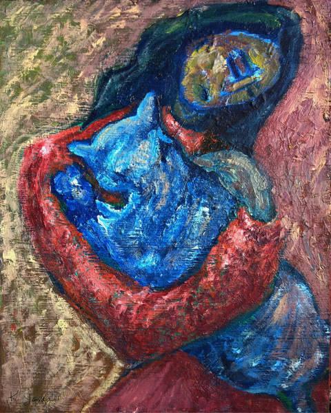 Painting - Embrace II by Katt Yanda