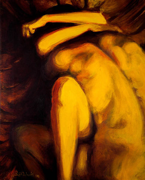 Painting - Embrace by Jason Reinhardt