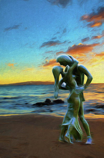 Photograph - Embrace by OLena Art Brand