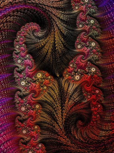 Digital Art - Embroidered by Amanda Moore