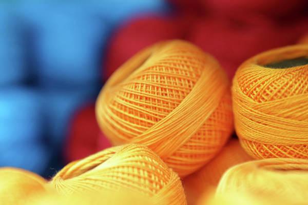Photograph - Embroidery Yarn by Paul Cowan