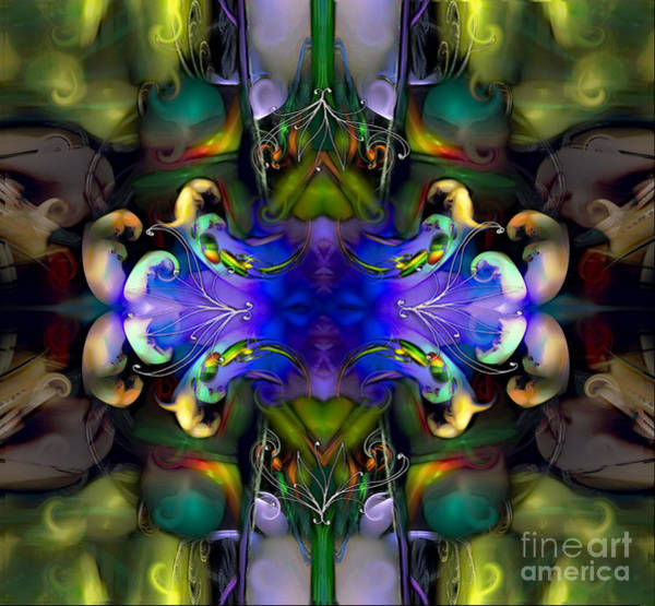 Digital Art - Embryonic Journey by Rhonda Strickland
