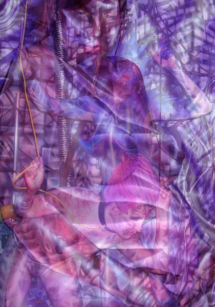Embryotic Dreaming Art Print
