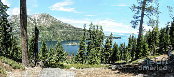 Photograph - Emerald Bay Inspiration Point by Joe Lach