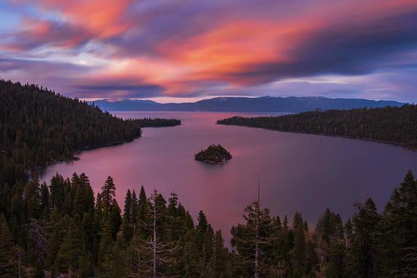 Emerald Bay Photograph - Emerald Bay Loves You By Brad Scott by Brad Scott