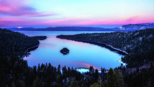Wall Art - Photograph - Emerald Bay Overlook by Steve Spiliotopoulos