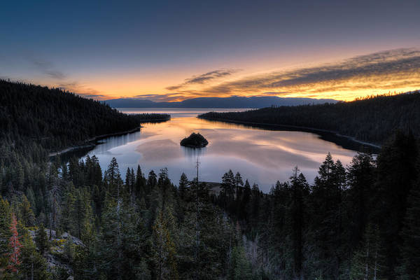 Photograph - Emerald Bay Sunrise by Mark Whitt