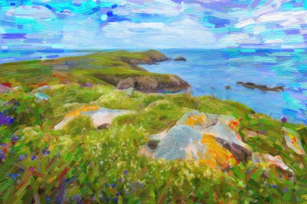 Painting - Emerald Coast by Asar Studios