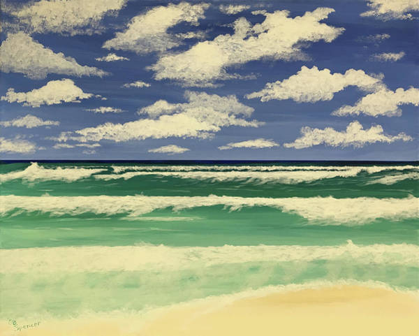 Northwest Florida Painting - Emerald Coast by Connie Spencer