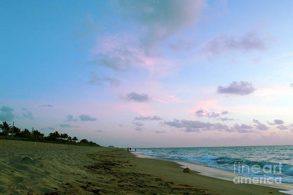 Photograph - Treasure Coast Florida Sunrise Seascape C7 by Ricardos Creations