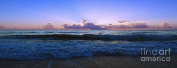 Photograph - Treasure Cost Florida Tropical Sunrise Sescape B2 by Ricardos Creations