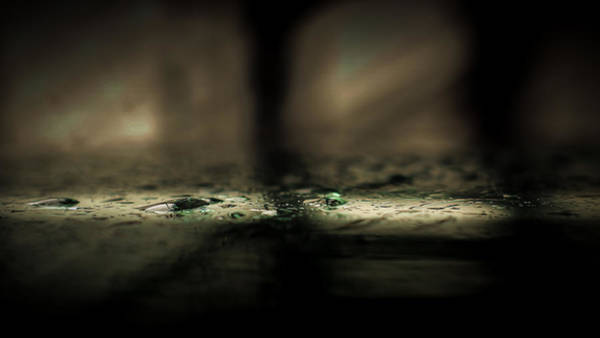 Gota Photograph - Emerald Droplets by Jose Torres-Lopez
