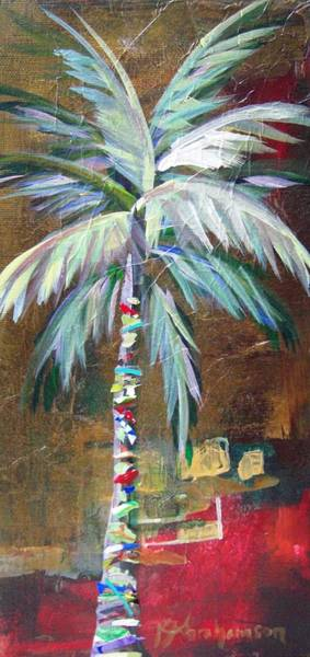 Painting - Emerald Fire Palm  by Kristen Abrahamson